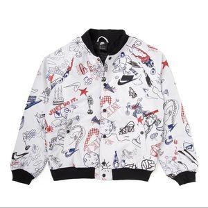 🆕 Nike Sportswear NSW Sketch Bomber Jacket Large